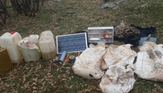 Bitliste 50 kilo EYP imha edildi