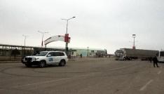 BM yardım konvoyu Suriyeye geçiş yaptı