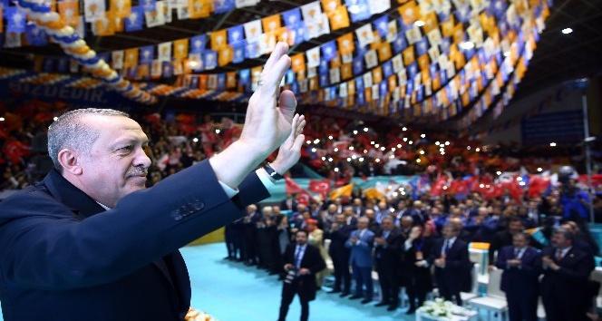Cumhurbaşkanı Erdoğan: AK Partinin kaderi, milletin kaderiyle bütünleşmiştir