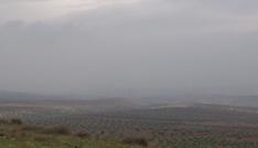 Suriye sınırında yoğun sis