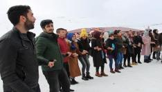 Bingölde 3. Hesarek Kayak Festivali renkli görüntülere sahne oldu