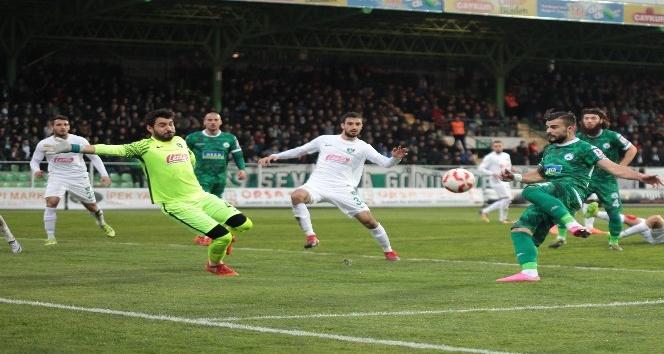 Spor Toto 1. Lig: Akın Çorap Giresunspor: 0 - Denizlispor: 2