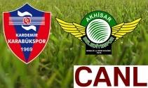 Karabükspor Akhisarspor canlı izle bein sports ! Karabük Akhisar canlı skor maç kaç kaç ?