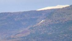 (Özel Haber) Havaya uçurulan Öcalanın sözde anıtının kalıntıları Kilisten de görülüyor