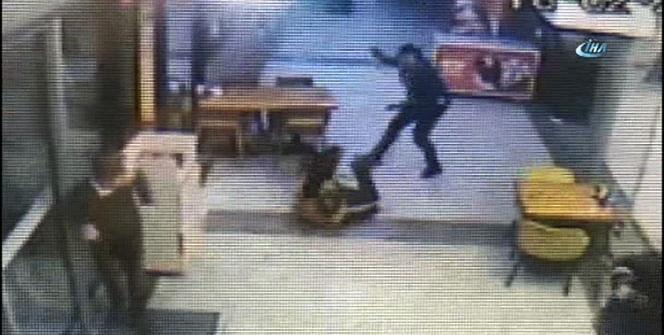 Çorbacıdaki silahlı kavga kamerada