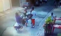 Brezilyada motosiklet yayaların arasına daldı: 4 yaralı