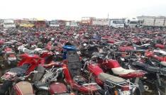 Şanlıurfada 2 milyon TL değerinde 153 çalıntı araç ele geçirildi