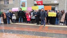 Elazığlı kadınlardan istismar olaylarına tepki