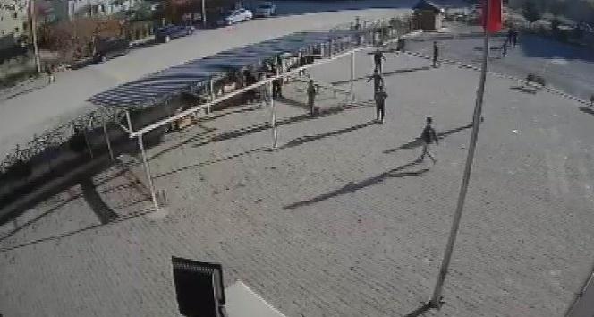 Güvenlik kamerasına yansıyan darp olayıyla ilgili soruşturma başlatıldı