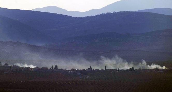 Uçaklar havadan, ÇNR ve obüsler ise karadan bomba yağdırdı