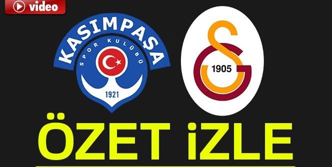 Kasımpaşa Galatasaray Maç Sonu