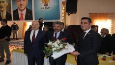 AK Parti Bismil ilçe başkanlığına Mehmet Kızılkaya seçildi