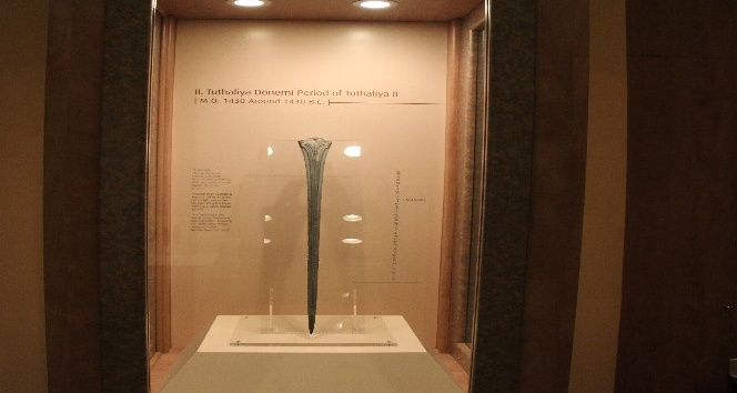 Dünyada eşi bulunmayan Hitit kılıcına paha biçilemiyor