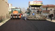 Erdemlide asfalt çalışmaları aralıksız sürüyor