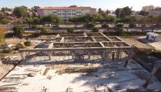 Kına konağı inşaatı başladı