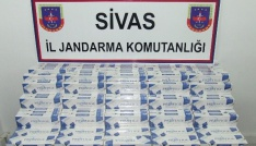 Sivasta kaçakçılık operasyonları