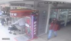 Ispartadaki şapkalı telefon hırsızı tutuklandı