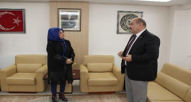 Kadınana Gazetesinden ESOB Başkanı Konaka ziyaret