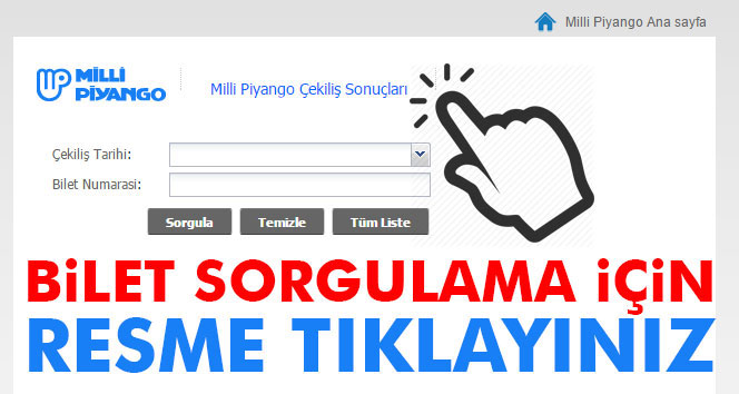 19 Mayıs 2018 Milli Piyango Çekilişi Bilet Sorgulama | Milli Piyango MPİ