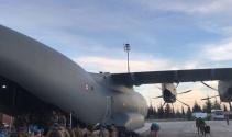 Sınıra bin kişilik askeri personel sevk edildi