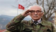 (Özel) 78 yaşındaki gurbetçi Afrin için kamuflaj giydi