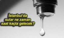 İstanbul'da sular ne zaman, saat kaçta gelecek? 21-22 Şubat 2018 İSKİ su kesintisi listesi