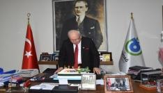 Başkan Albayraka Doğum Günü sürprizi
