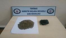 Tekirdağda uyuşturucu operasyonu: 4 tutuklama