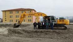 Domaniçte Hisar İlkokulunun yapımına başlandı