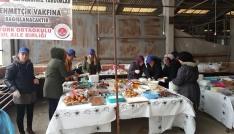 Akçakocada okul aile birliğinden Afrin için kermes