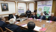 Kırşehirde okur-yazarlık seferberliği toplantısı yapıldı
