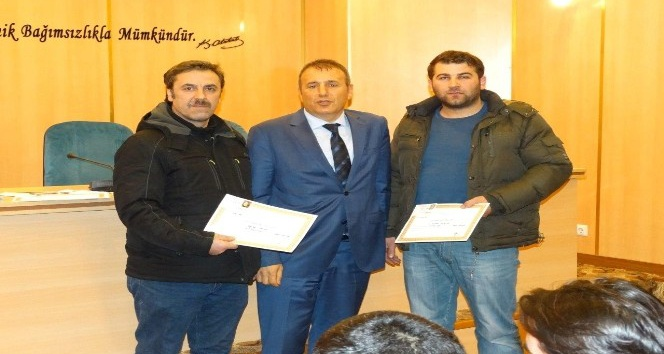 Arsin Organize Sanayide afetle mücadele projesi