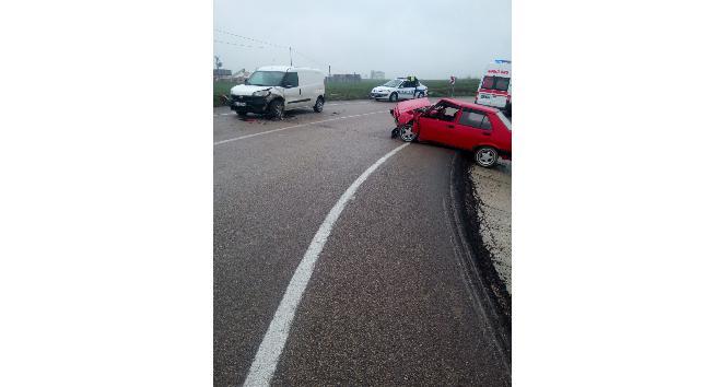 Tekirdağda trafik kazası: 3 yaralı