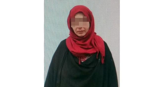 MİT ve ÖSO tarafından aranan kadın terörist Türkiyeye getirildi