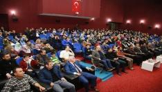 Elazığda Şehitler Gecesi programına yoğun ilgi