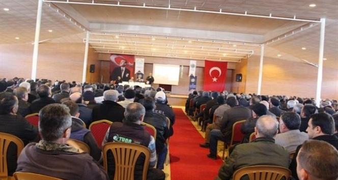 Kırklarelinde Arazi Toplulaştırma konulu panel gerçekleştirildi