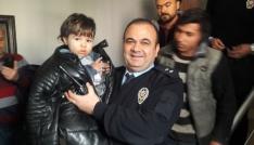 Adıyamanda 36 saattir kayıp olan Suriyeli çocuk donmak üzereyken bulundu