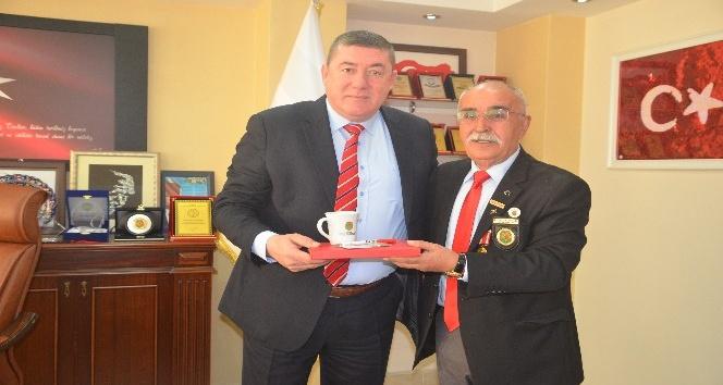 Türkiye Harp Malulü Gaziler Şehit Dul ve Yetimleri Derneği Tekini ziyaret ettiler