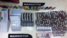İzmirde uyuşturucu madde ticareti yapan 40 şüpheli yakalandı