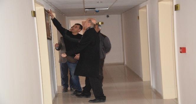 Başkan Bozkurt, Şuhut Belediyesi Otelinde incelemelerde bulundu