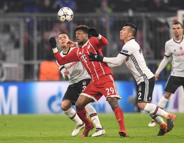 Bayern Münih Beşiktaş Maçından Kareler