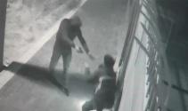 Maskeli silahlı soyguncu, pompacıyı döverek cebindeki parayı aldı