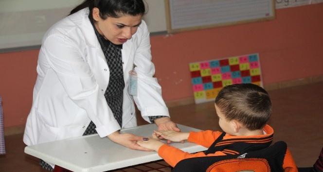 Öğrencilere ilk yardım eğitimi