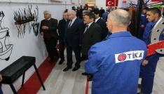 TİKA Türkiyenin mesleki eğitim alanındaki tecrübesini Tacikistana aktarıyor