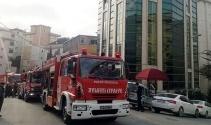 Maltepede otel yangını