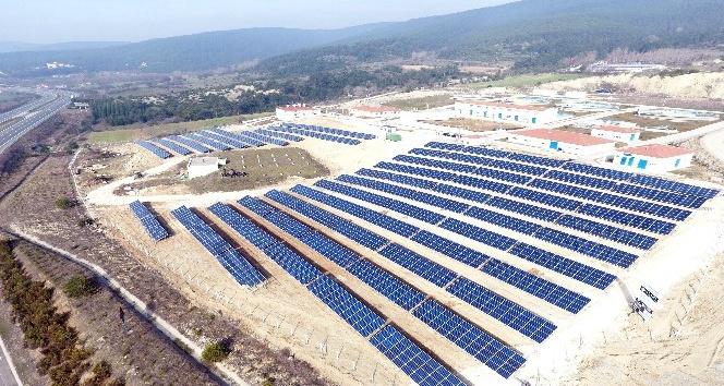 Boluda kurulan Güneş Enerji Santrali ile 10 bin hanelik enerji üretilecek