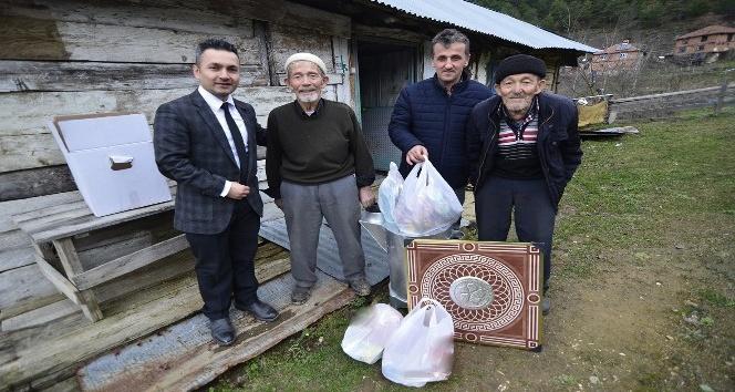 Yığılca Belediyesinden vatandaşa yardım eli