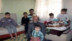Ayaklarını kaybeden Türkmen yüzbaşı 13 kişilik ailesiyle Kayseriye sığındı