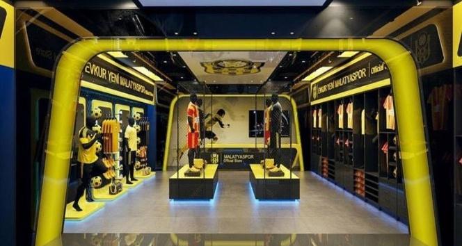 Evkur Yeni Malatyasporun ikinci kulüp mağazası böyle olacak
