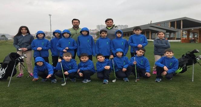 """""""Çocuk Evlerinden Golfe, Golften Olimpiyatlara projesi devam ediyor"""